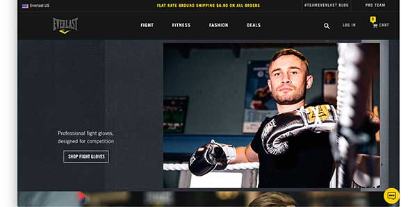 everlast homepage