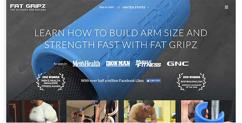 fat gripz homepage