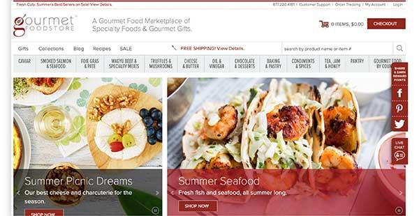 gourmet food store affiliate program