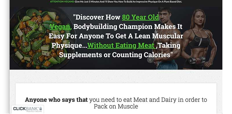 plant based bodybuilding website