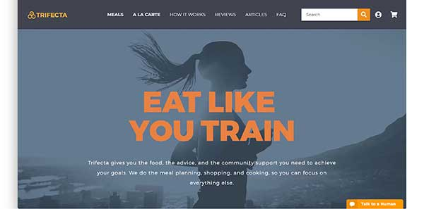 trifecta nutrition boxing affiliate program homepage