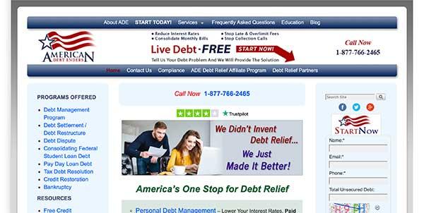 american debt enders home page
