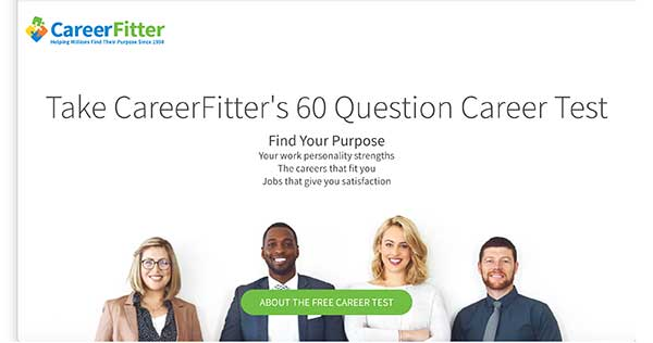 careerfitter home page
