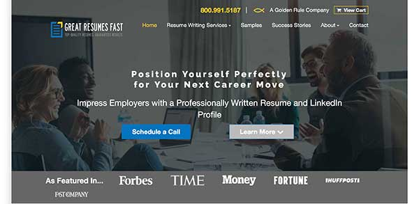 great resumes fast home page
