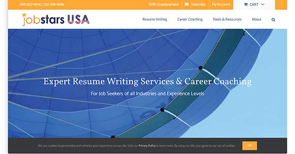 jobstars usa home page