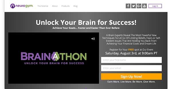 neurogym homepage