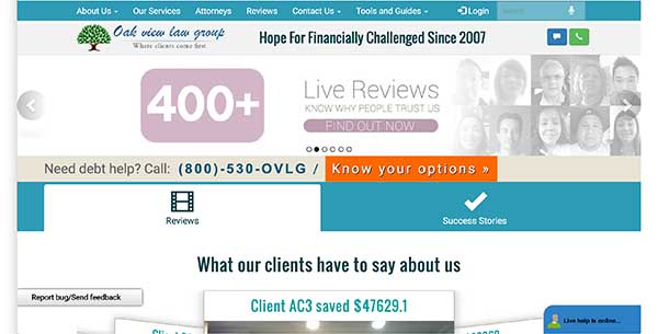 oak view law group home page