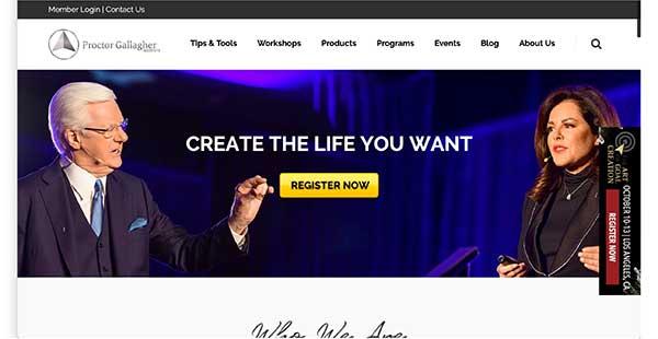 proctor gallagher institute homepage
