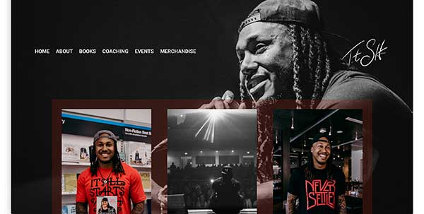 trent shelton home page