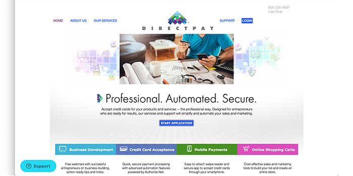 directpay home page