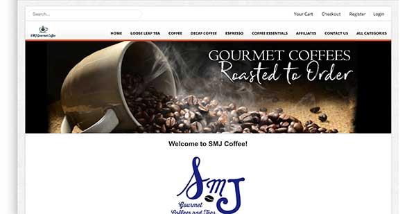 smj coffee home page