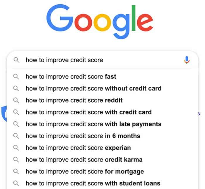 google's autocomplete feature