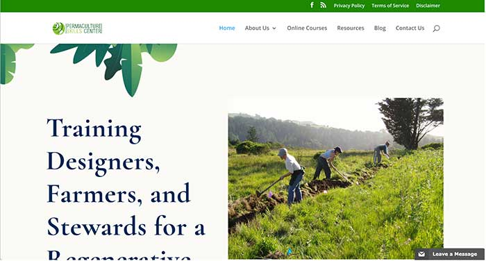 permaculture skills center home page