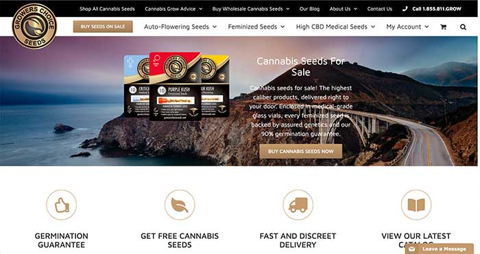 growers choice seeds home page