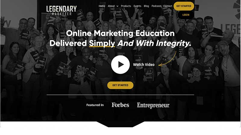 Login Legendary Marketer