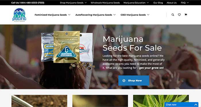 pacific seed bank home page