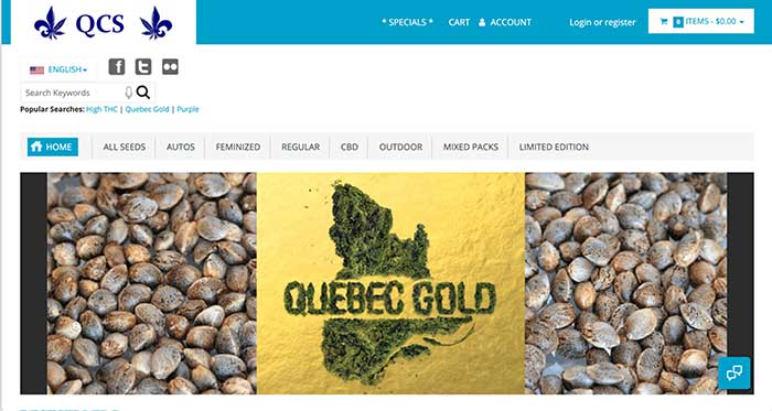 quebec cannabis seeds home page