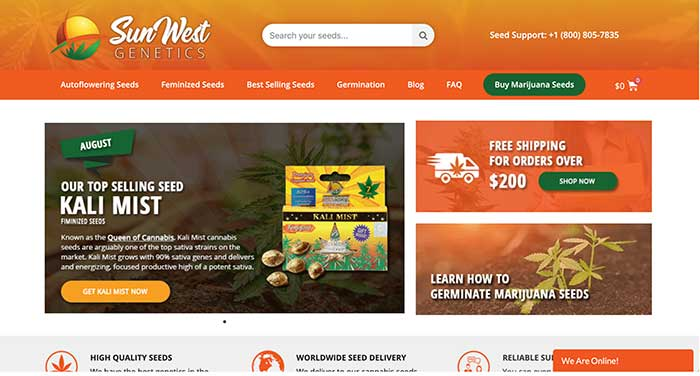 sun west genetics home page