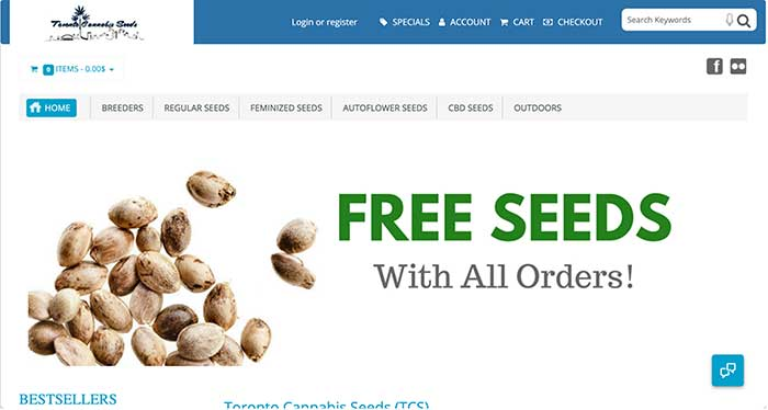 toronto cannabis seeds