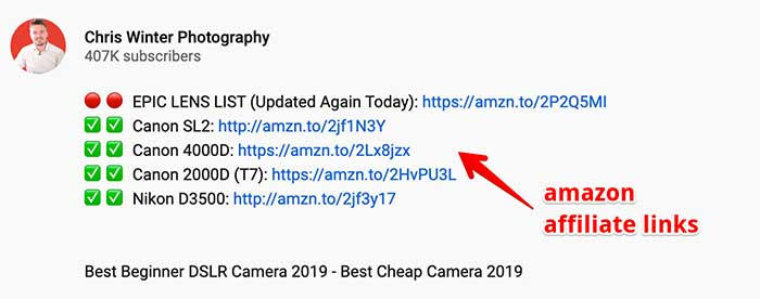 photography youtube description
