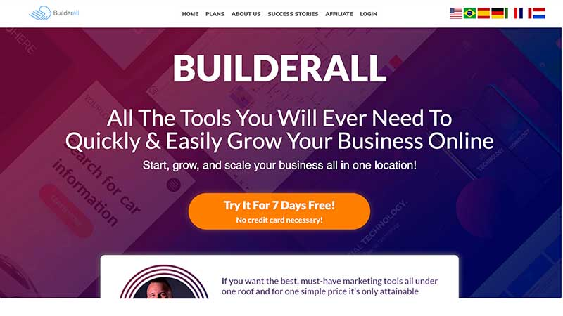 Builderall Free Trial - Start NOW for Just $1 [Lifetime Access]
