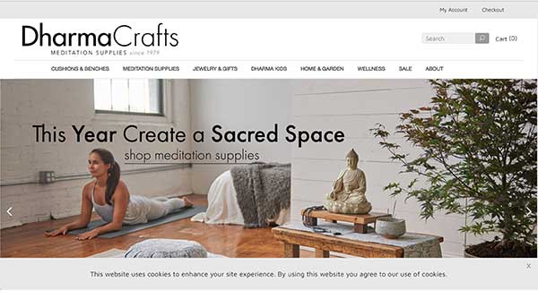 dharma crafts home page