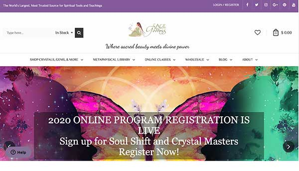 sage goddess - metaphysical affiliate programs