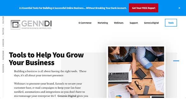 genndi home page
