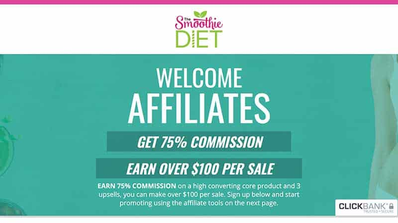 the smoothie diet affiliate review