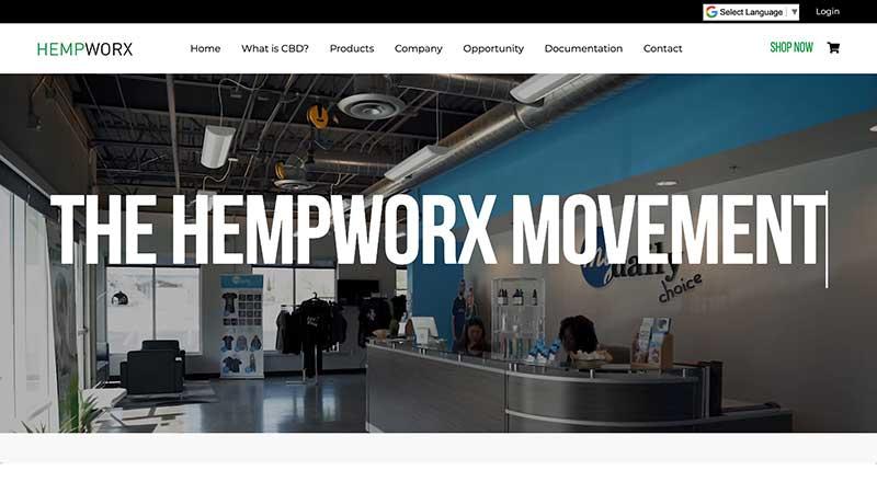 affiliate at hempworx