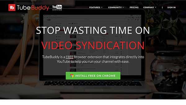 tubebuddy - youtube affiliate programs