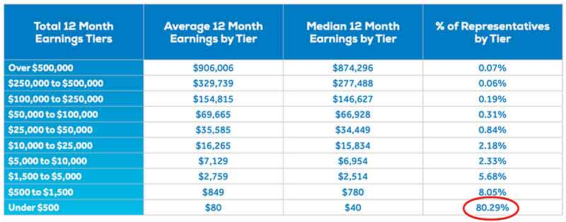 worldventures business income disclosure
