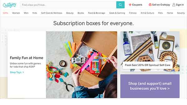 subscription box affiliate programs - cratejoy
