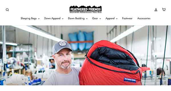feathered friends camping affiliate program