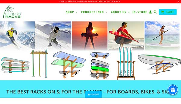 grass racks home page