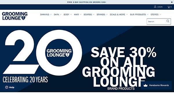 grooming lounge men's affiliate program