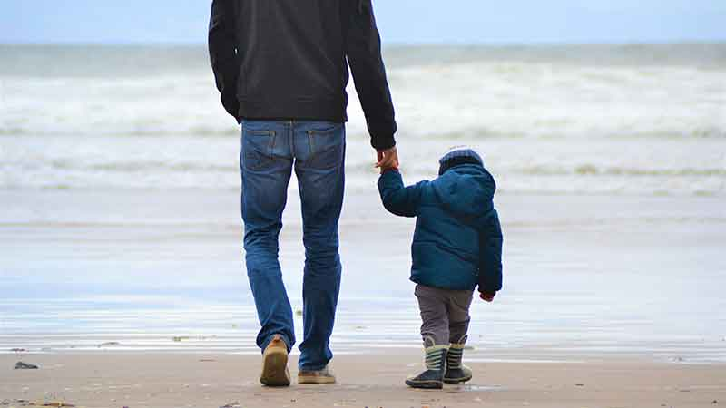 dad with child