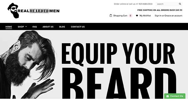real bearded men home page