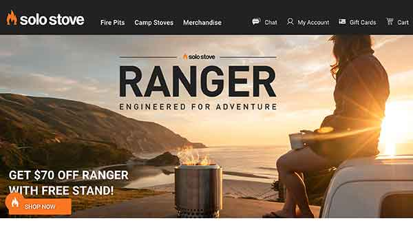 camping affiliate programs - solo stove