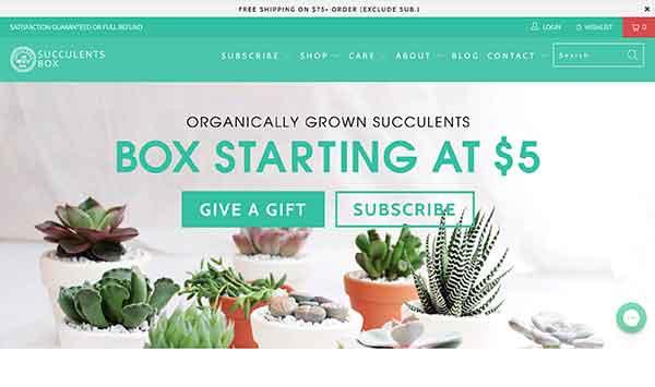 succulents box affiliate program