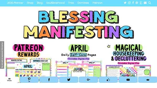 blessing manifesting affiliate program