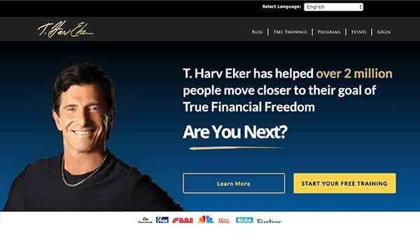 t. harv eker affiliate program