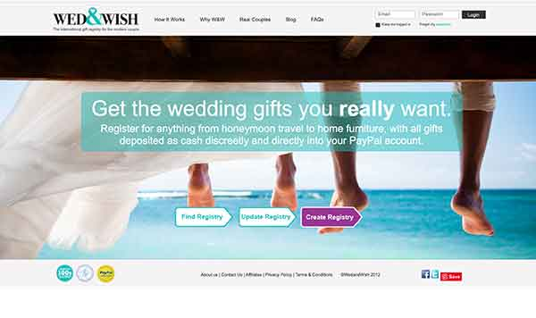 wed & wish affiliate program