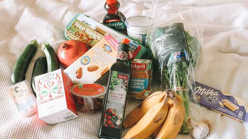 can you make money doing instacart - various groceries