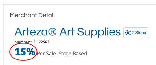 art supplies affiliate progam - arteza