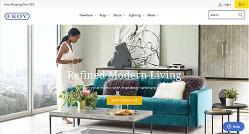 furniture affiliate programs - froy furniture