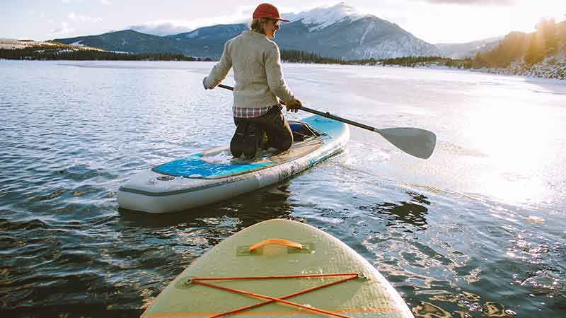 paddle board affiliate programs - paddle boarders