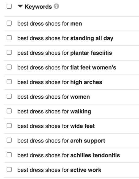 fashion shoes search results