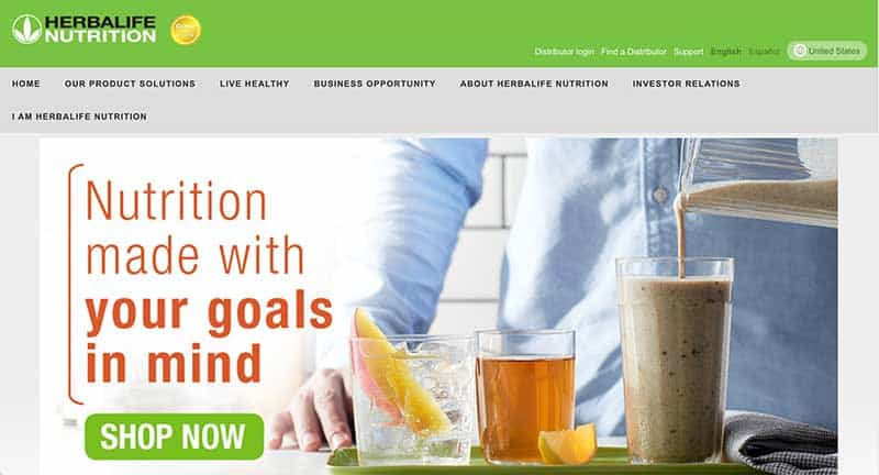 herbalife home page